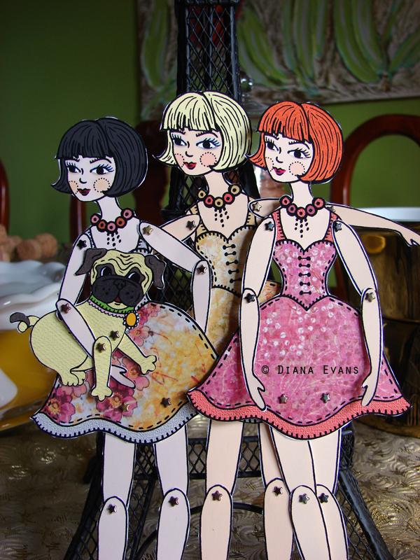 bob cut paper doll 3
