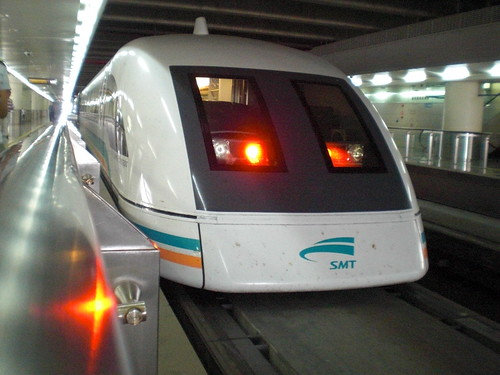 上海磁浮列車(Shanghai)