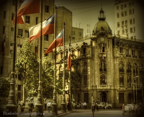 Santiago´s government building - Downtown Santiago - Chile
