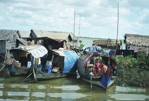 Small-scale fisheries, Cambodia, photo by Chris Bene, 2003