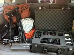 The Family minus Canon 50L (BRYN {KLOR}) Tags: canon polaroid pelican mk2 5d 70200 hoodman sunpak tenba rokinon glidecam 5dmk2