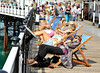 Snooze in the sun (Lilla~Rose) Tags: holiday beach pier seaside brighton brightonpier putyourfeetup wishi doctorsorders archiveshotsfromlastmonth wasthereagainnow