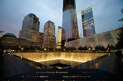 World Trade Center 911 Memorial (street level) Tags: nyc newyorkcity memorial worldtradecenter 911 1600asa