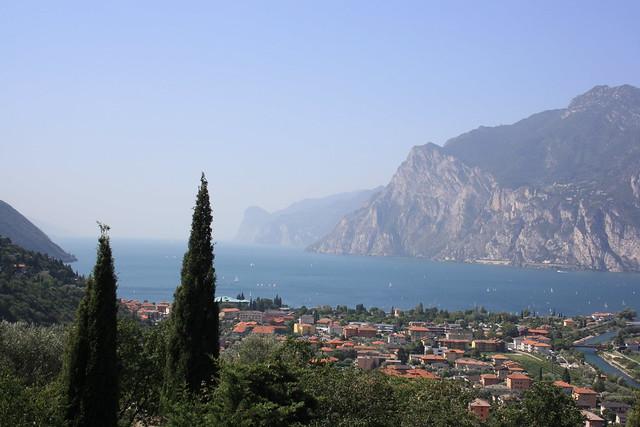 Vistas del Lago de Garda desde Torbole