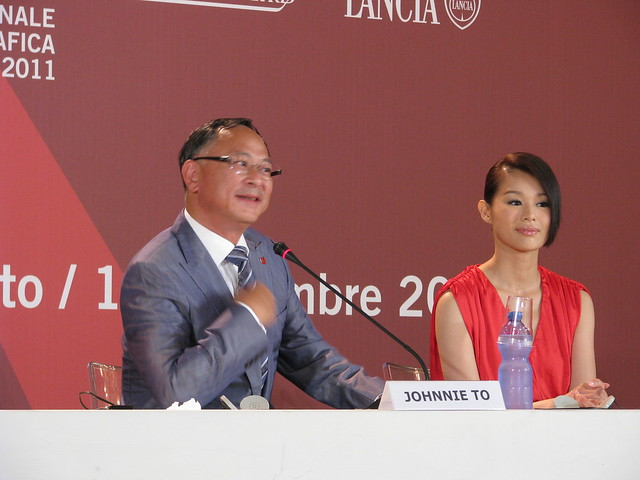 Venezia 2011 - Johnnie To & MYOLIE WU - Life without principle