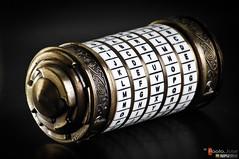 The Cryptex from The DaVinci Code (www.paolojose.com) Tags: macro john code nikon paolo jose davinci d2x sigma apo replica prop dg strobe 70300 cryptex nostrobistinfo removedfromstrobistpool seerule2