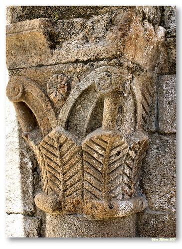 Capitéis românicos do Mosteiro de Ermelo #2 by VRfoto