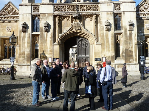 Tour Group at King's College
