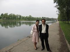 North Korea 042 (rapidtravelchai) Tags: northkorea pyongyang dprk taedongriver northkoreantouristguide northkoreantouristguides