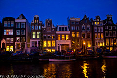 Canal (Patrick Rabbat - Photographie) Tags: amsterdam by night canal amsterdamcanal