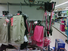 Tesco Winchester stocks riding crops, jodphurs...