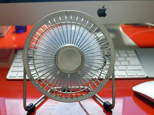 USBの扇風機
