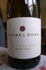 2008 Carmel Road Pinot Noir