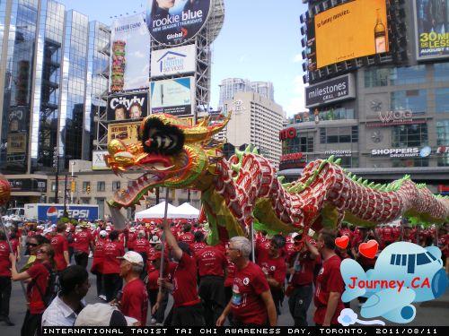 Dragon Dance at Dundas Square