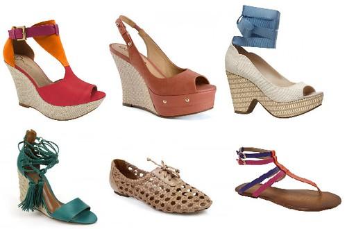 sapatos femininos 2012