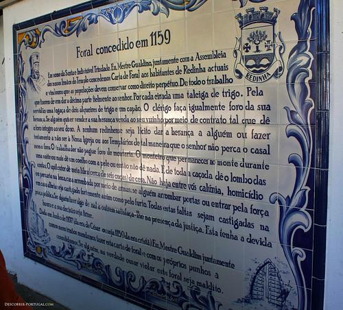Foral of Redinha, the medieval document establishing the parish, freguesia, of Redinha
