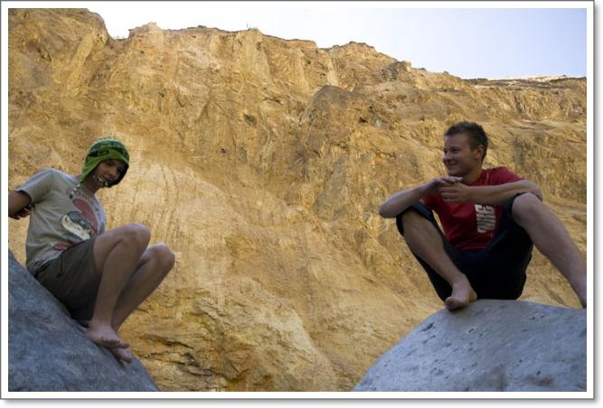 2011 07 25_Magda i Tomek Dookola Swiata_Clopaki wyjezdzaja_DSC_0280
