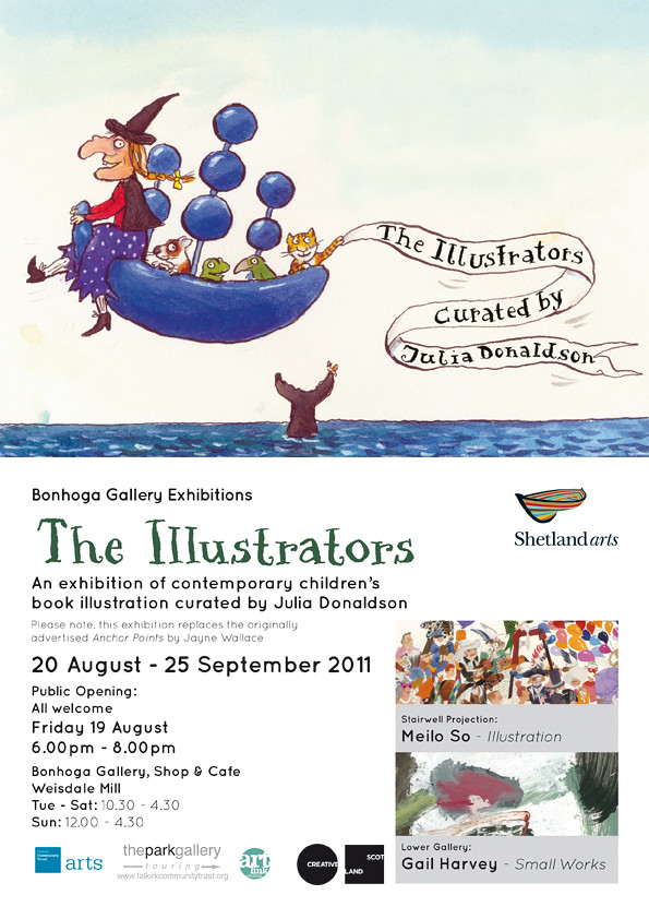 The Illustrators at Bonhoga Gallery