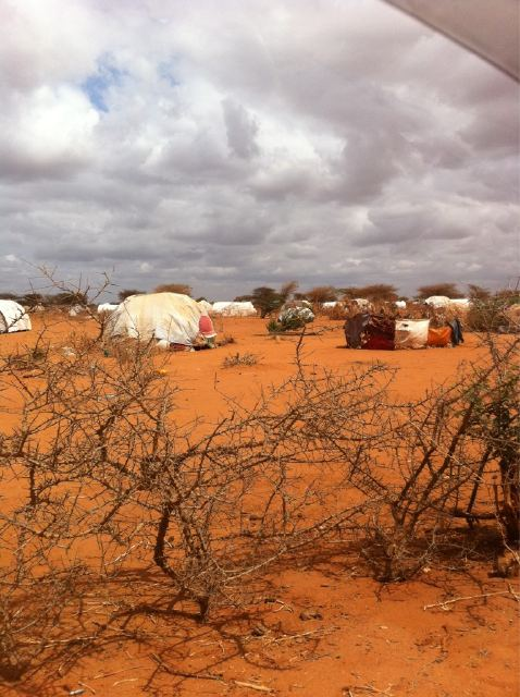 outskirts of Dadaab refugee camp