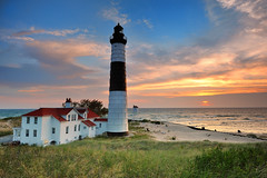 Big Sable Point Lighthouse - Ludington , Michigan by Michigan Nut