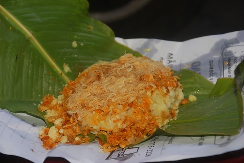 sticky rice in leaf