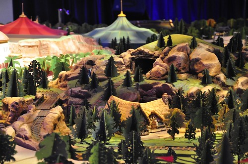 New Fantasyland model