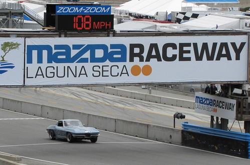 Motorsports Reunion races at Mazda Raceway Laguna Seca
