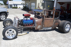Hot Rod - A Work In Progress (I Love Badger Dogs!) Tags: california ca chevrolet rat chevy 350 hotrod rod v8 ratrod blower bethelisland anthonywstanton anthonywstantonphotography