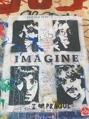 Lennons wall 3 (MarkelETZ) Tags: love wall all prague you need imagine beatles lennon jhon