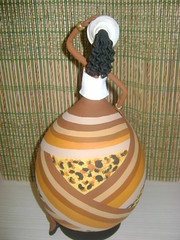 Negras e Africanas em Cabaa e Biscuit (Dani Oliveira- Arte em Cabaa e Biscuit) Tags: artesanato negras africanas bicuit arteemcabaa
