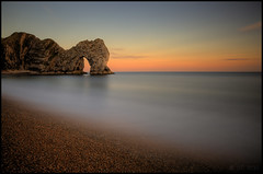 Durdle Door (Ben Locke (Ben909)) Tags: longexposure sea cliff beach coast dorset durdledoor nd110