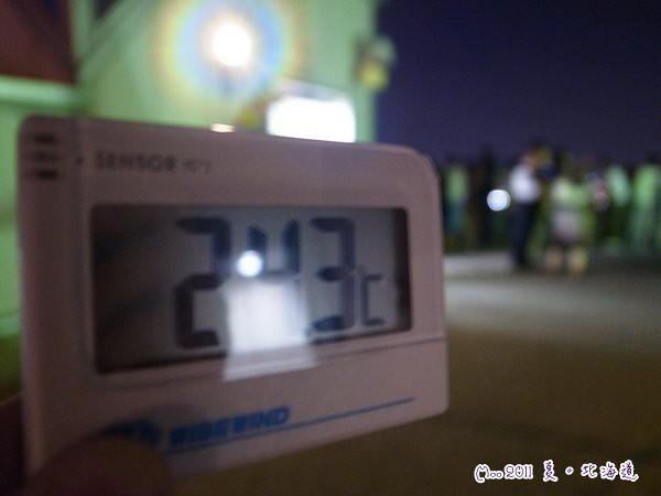 函館山-溫度