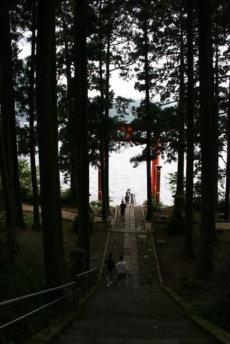 Toward the torii