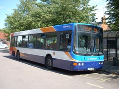 United Counties R120 HNK (quicksilver coaches) Tags: volvo wright buckingham stagecoach x5 renown b10ble unitedcounties r120hnk
