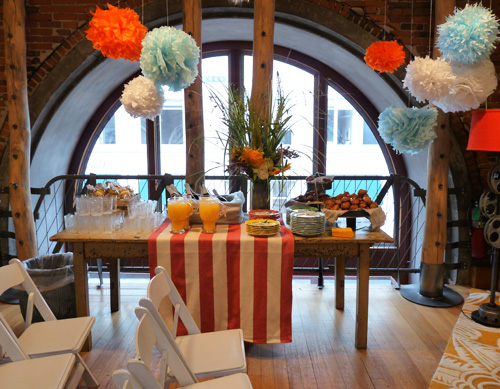 Boston Decorate - Mimosas and brunch!