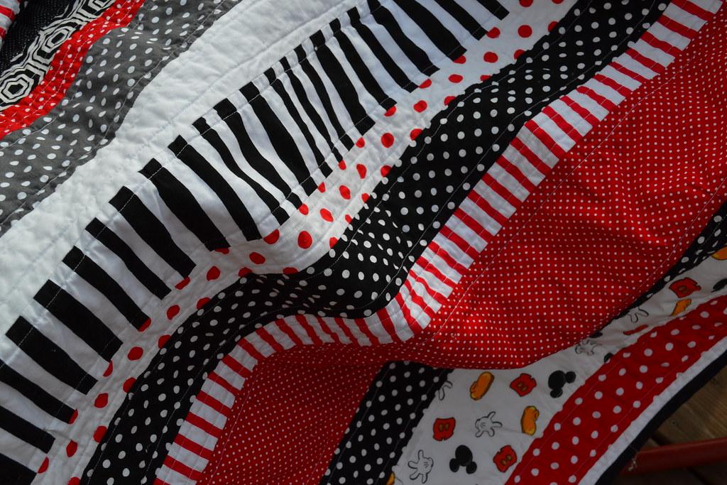 Mickey baby quilt - NewlyWoodwards : disney baby quilts - Adamdwight.com