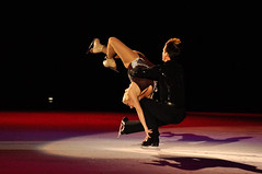 Balanced pair (John Nefastis) Tags: show ice iceskating skating idaho figureskating sunvalley tamron70300