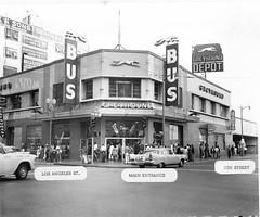 Greyhound Lines, Los Angeles Station 1924 - 19...