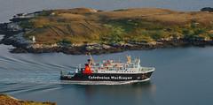 MV Lord of the Isles [ Rgh nan Eileanan] arriving at Lochboisdale (Hugh Spicer / UIsdean Spicer) Tags: uk summer june ferry scotland westernisles calmac uist southuist machair outerhebrides loti lordoftheisles 2011 caledonianmacbrayne lochboisdale howmore tobhamor uibhistadeas mvlordoftheisles benkenneth rghnaneileanan