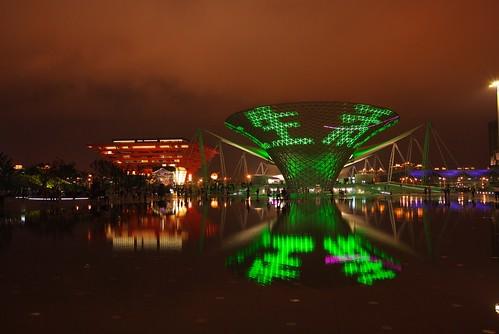 上海世博夜景