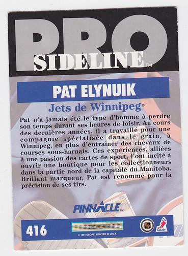 Sideline - Elynuik back