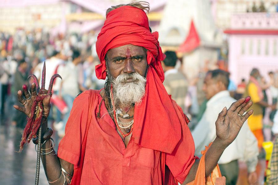 садху Агхори , Кумбхамела 2010 © Kartzon Dream - авторские путешествия, авторские туры в Индию, тревел фото, тревел видео, фототуры