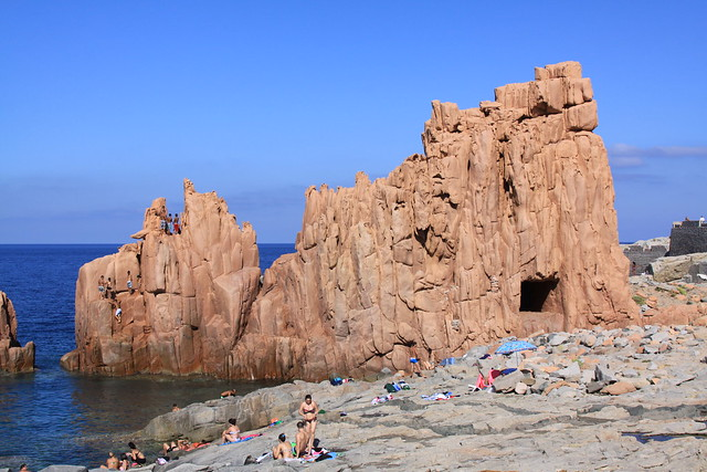 The Rocce Rosse (red rocks) - Arbatax' claim to fame...