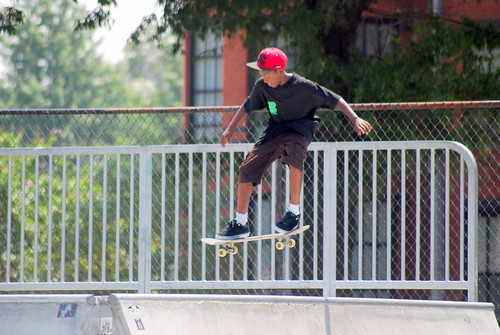 Skateboard Park - Air Shot