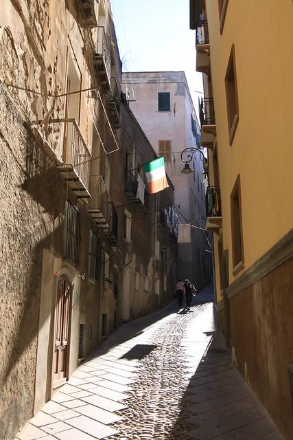 Cagliari street scene