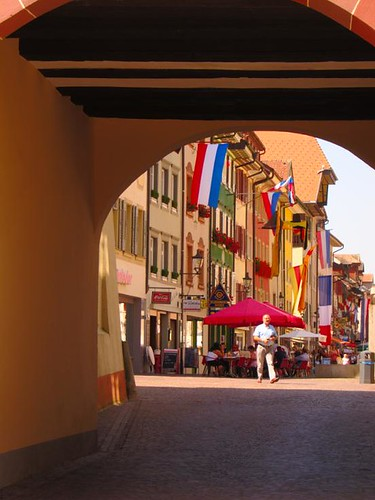 germany city archway by Danalynn C