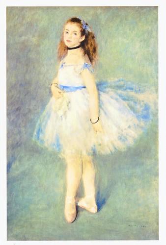 ★ポストカード②ルノワール「踊り子」1874年 by Poran111