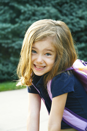 Eliza's First Day of School (Kindergarten)