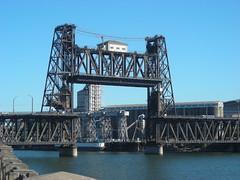 The Steel Bridge is up