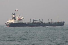 Oil tanker 'Golden Fareast' off the shores of Hong Kong (Marcus Wong from Geelong) Tags: ocean sea water port hongkong boat ship harbour vessel maritime victoriaharbour